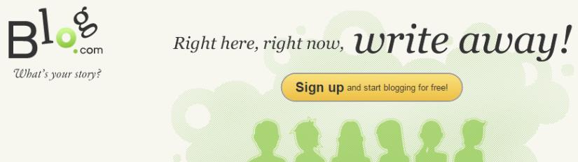 Blog.com Logo