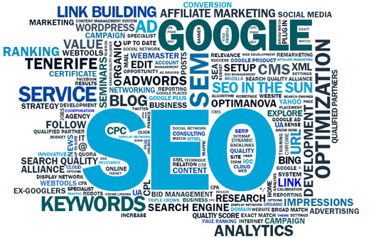 SEO Keyword Cloud