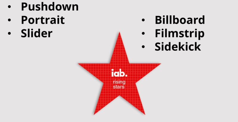IAB Rising Star Ads