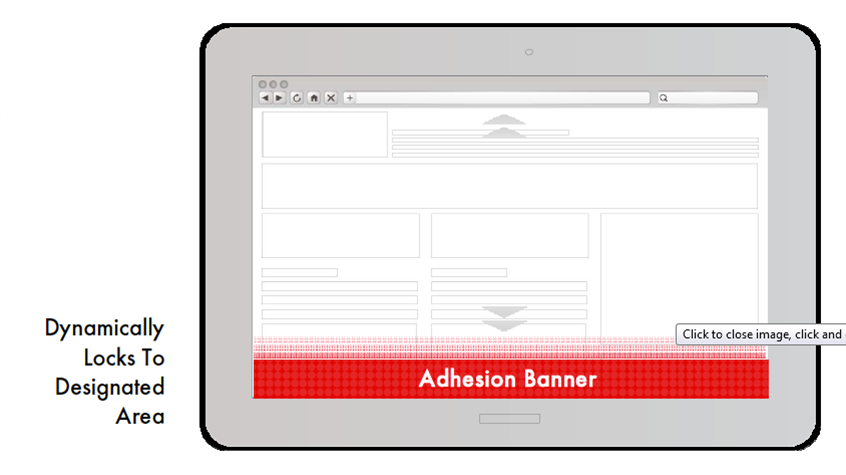 Adhension Banner