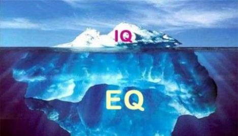 Emotional quotient is more important than IQ.