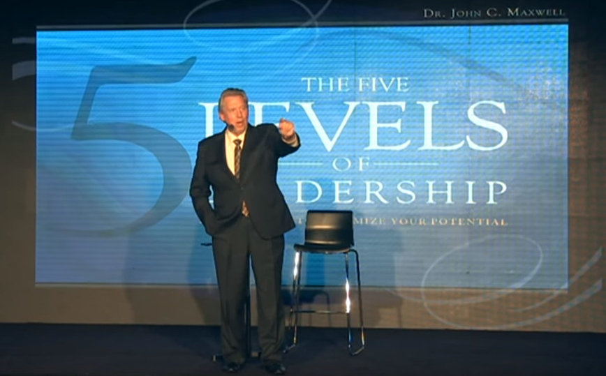 JohnMaxwell - Five Level of Leadership