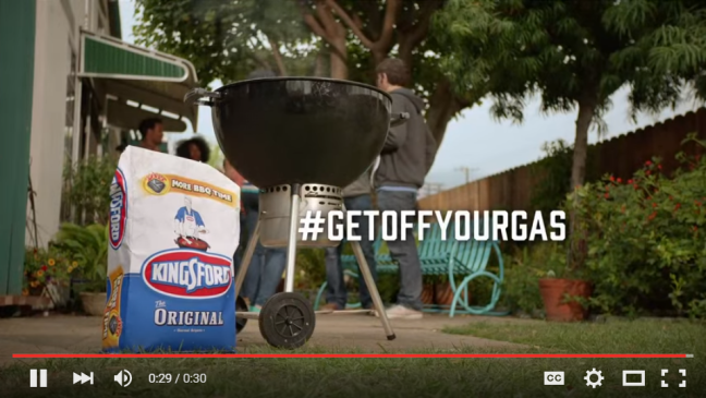 Kingsford Characoal - #getoffyourgas