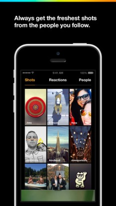 Slingshot app screen