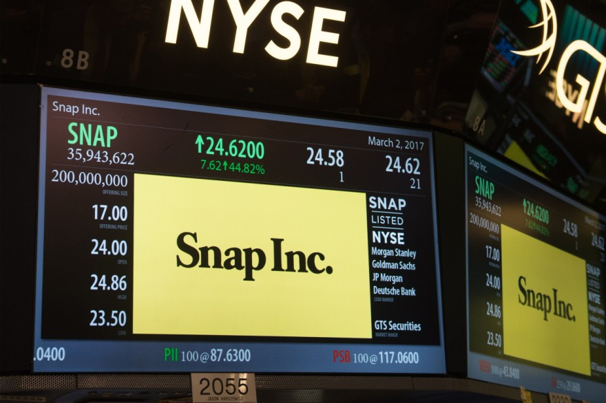 $SNAP in NYSE