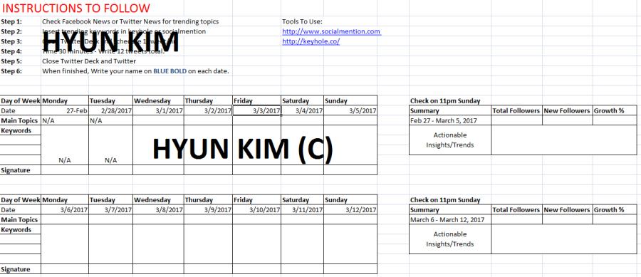 Twitter Scheduling System
